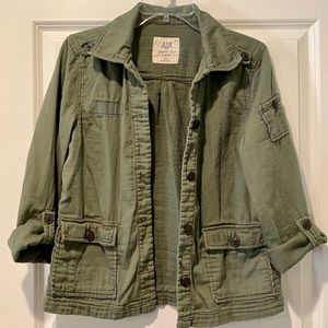 American Eagle Outfitters military utility jacket